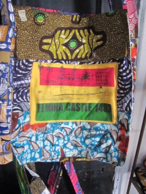 Gift bag at Elmina Castle