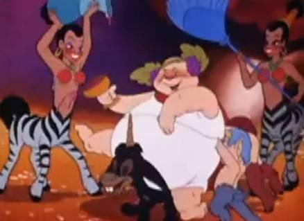Scene from Disney's Fantasia (2000)