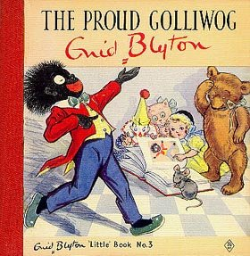 Book cover of The Proud Golliwog by Enid Blyton (1946)